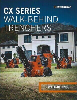 Equipment Brochure - Ditch Witch - C16x Et Al Walk-behind Trencher 2016 E5978
