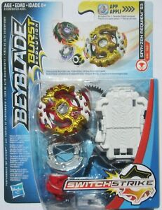 + Beyblade Burst Evolution Switch Strike Spryzen Requiem S3 - Hasbro - US Seller