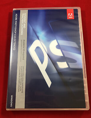 Adobe Photoshop CS5 Extended 2011 for Windows w/ Serial Number