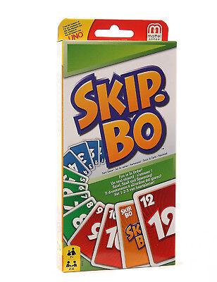 Mattel 52370 Skip Bo Kartenspiel Familienspiel Gesellschaftsspiel Kinderspiel