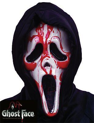 Bleeding Ghost Face Scream Masks Scary Horror Halloween Fancy Dress Costume