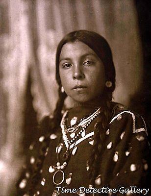 "Native American Crow Woman ""Takes a Horse"" - Historic Photo Print"