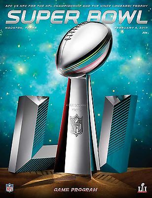 NFL Super Bowl 51 LI (2017) Official Stadium Edition Programme - Houston 5th Feb