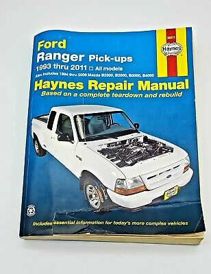 Haynes Repair Manual 36071 Ford Ranger Pick-ups 1993 - 2000