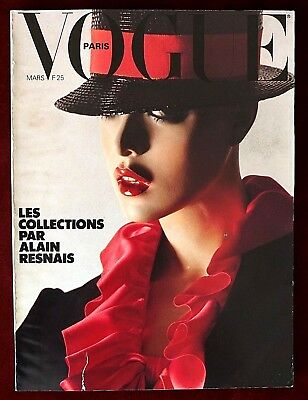 Vogue Paris ~ #584 March 1978 ~ Collections Helmut Newton Marie Helvin Barbieri