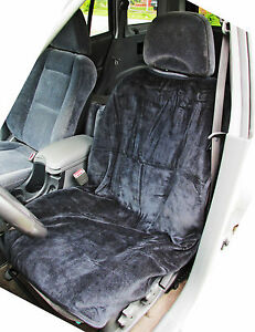 1 auto car seat cover protector universal terry towel storage bag single black ebay. Black Bedroom Furniture Sets. Home Design Ideas