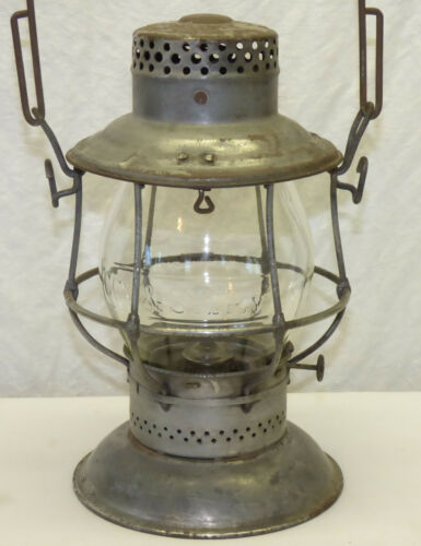 Adlake CCC&StL Bell Bottom Railroad RR Lantern Cleveland Cinci Chicago St Louis