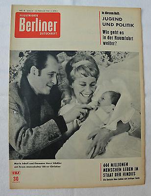 ILLUSTRIERTE BERLINER ZEITSCHRIFT 1962 Nr. 8: Unglück Völklingen/Jugendheime