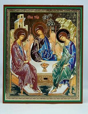 Holy Trinity Andrey Rublev Icon Святая Троица Рублева Икона