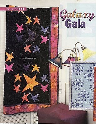Galaxy Gala Quilt Pattern Pieced MS for sale  Shipping to India