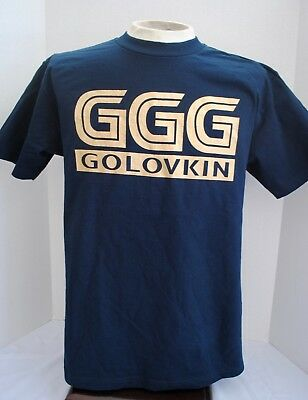 Ggg T Shirt Mens Tee Gennady Golovkin Canelo Boxing Fight Tee Navy