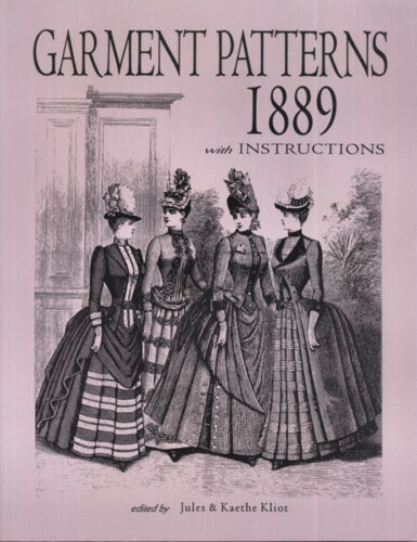 Garment Patterns 1889 with Instructions