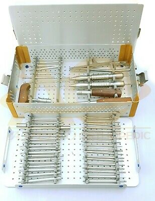 Broken Screw Removal Instrument Set Of Orthopedic Spine Instruments