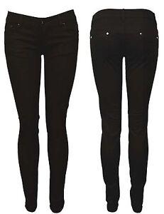 Womens Ladies Stretch Faded Ripped Slim Fit Skinny Denim Jeans Size UK 6 8 12 14