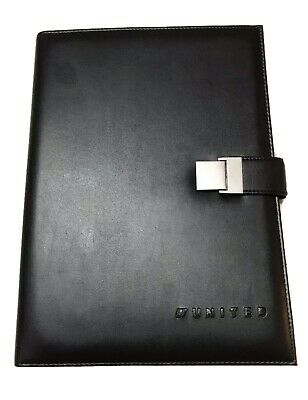 Business Portfolio Leather Organizer Wcalculator Pad And Pen - United