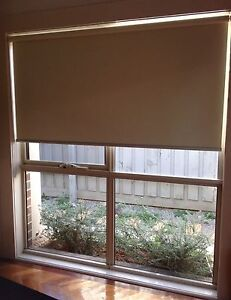 6 X Acmeda sandstone chain operated internal roller blinds Mitcham Whitehorse Area Preview