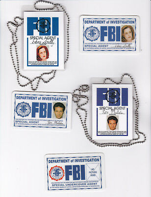 5 Halloween Costume Accessories Agent Fox Mulder Dana Scully the Xfiles X-files (Mulder Halloween Costume)
