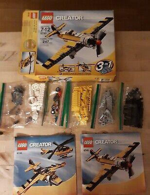 Lego Set 6745 Airplane Complete & Excellent Condition