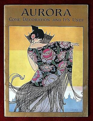 Aurora Magazine~ Cone Decoration and It's Uses ~ 1925 ~ J.M. Field Art Deco