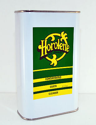 5 Ltr Can Horolene Ammoniated Clock Cleaning Solution