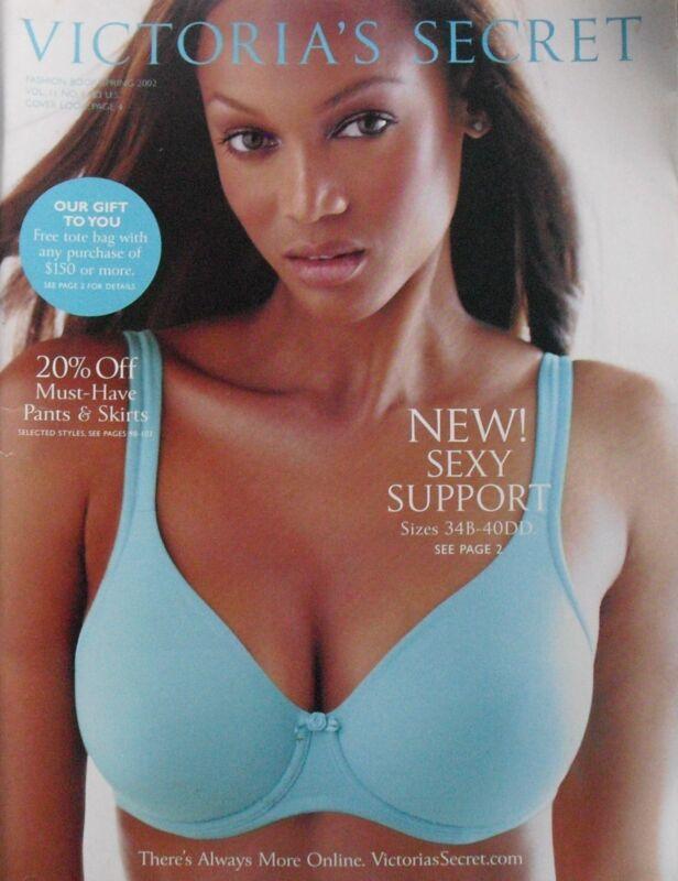 TYRA BANKS 2002 Spring Fashion Book VICTORIA
