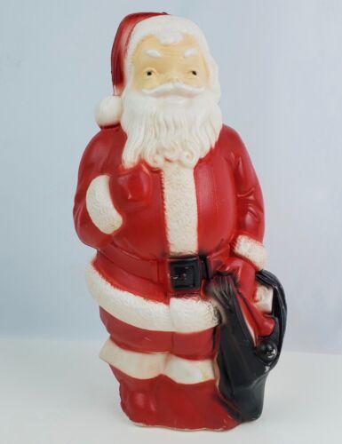 """1968 Empire Blow Mold Santa Claus No chips or cracks 13"""" tall"""