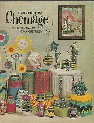 Tri-Chem Chemage Your Gateway To Fun & Creativity PB 1972