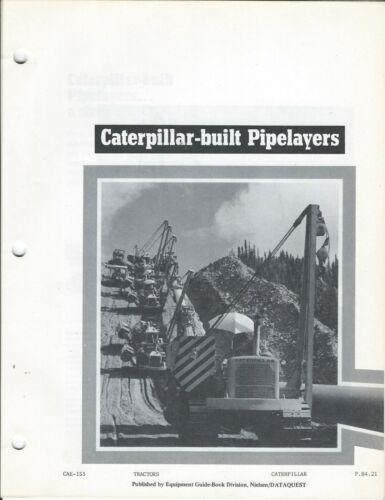 Equipment Brochure - Caterpillar - 561D et al Pipelayers - Old Photocopy (E5820)