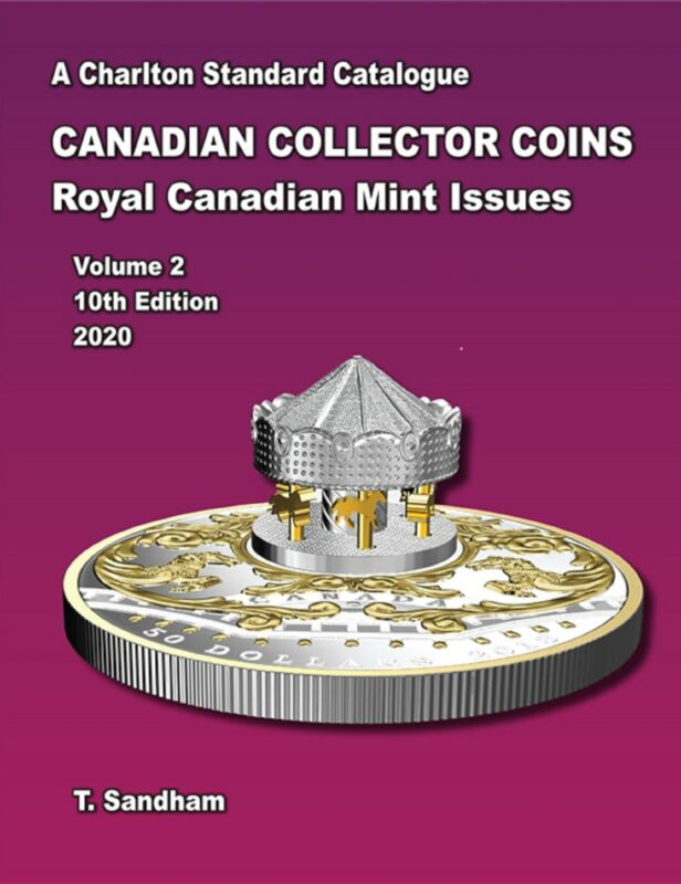 2020 CHARLTON CANADIAN COINS VOL 2 ROYAL CANADIAN MINT ISSUES 10TH EDITION
