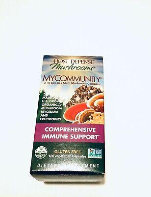 Host Defense My Community Comprehensive Immune Support, 120 Capsules