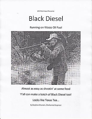 Make Black Diesel 70 Cents A Gallon. Cheaper Than Wvo Biodiesel By Usfiltermaxx