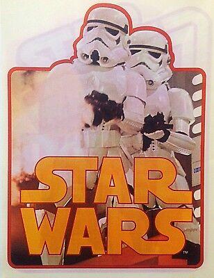 Original 1978 Star Wars Storm Troopers Hot Peel Iron On Transfer