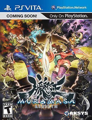(Factory Direct) Muramasa Rebirth Video Game for PlayStation Vita [video game]