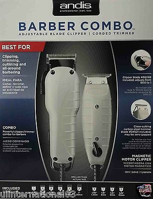 ANDIS PROFESSIONAL BARBER COMBO CLIPPER/TRIMMER