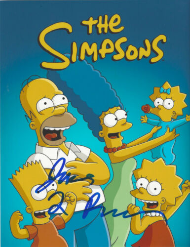 THE SIMPSONS PRODUCER JAMES L. BROOKS SIGNED AUTHENTIC 8X10 PHOTO w/COA