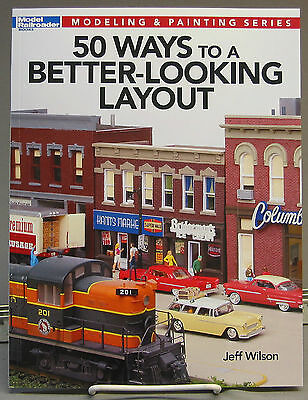 KALMBACH 50 WAY A BETTER LOOKING LAYOUT BOOK train o gauge design scenery