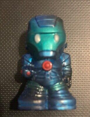 NEW Marvel Ooshies Series 4: Battle Damaged Iron Man Mark III Suit (Iron Batman Suit)