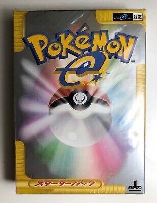 Pokemon Card - 1st Edition Sealed e Starter Pack - Japanese - 2001