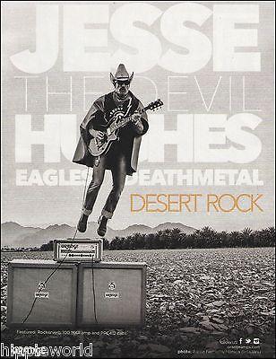 Jesse The Devil Hughes (Eagles of Death Metal) for Orange Guitar Amps 8 x 11 ad