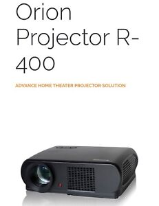 Ensemble ORION PROJECTOR R400 et SELF LOCK SCREEN tout neuf
