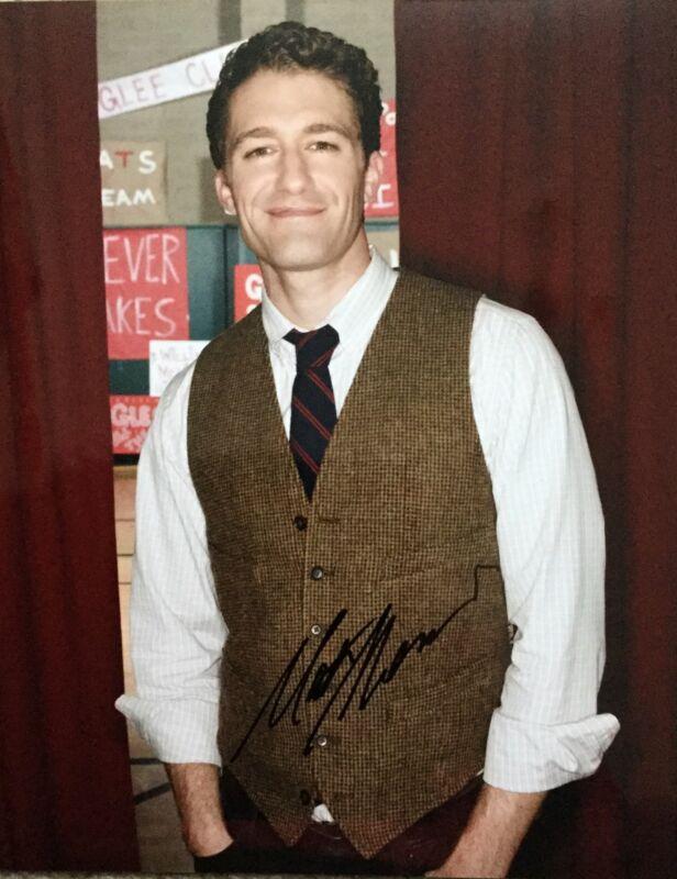 Matthew Morrison HAND SIGNED 10x8 Glee Photo  UACC Registered COA AFTAL