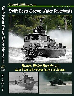Navy Swift Boats & Brown Water Riverboats in Vietnam War films for sale  Shipping to South Africa