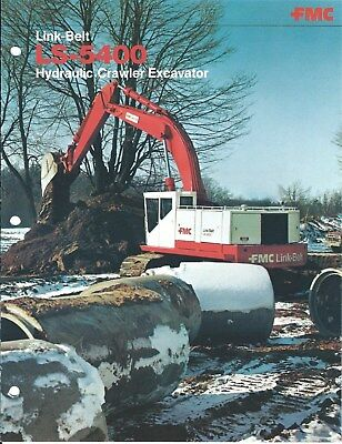 Equipment Brochure - Link-belt - Ls-5400 - Hydraulic Excavator - 3 Items E4685