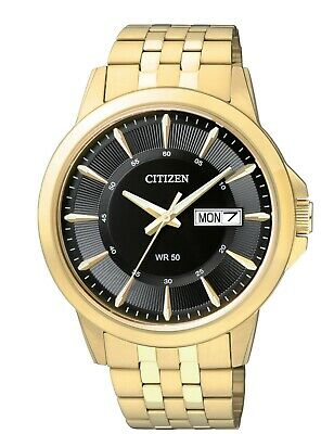 Citizen Men's BF2013-56E Quartz Day & Date Gold-Tone Bracelet 41mm Watch