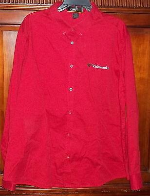 Visionworks Core 365 Womens Shirt 3Xl Red