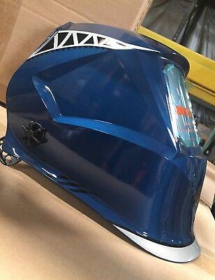 Bff Auto Darkening Weldinggrinding Helmet 4 Sensor Din 4-13 True Color
