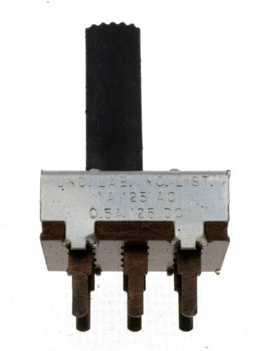 5X - Stackpole DPDT 6 terminal Slide Switch 1A/125VAC 0.5A/125VDC PCB Mount