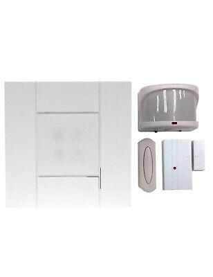 Hampton Bay HB-7779-02 Wireless Door Bell Alert Motion Sensor Kit 3 Tunes Motion Alert Kit