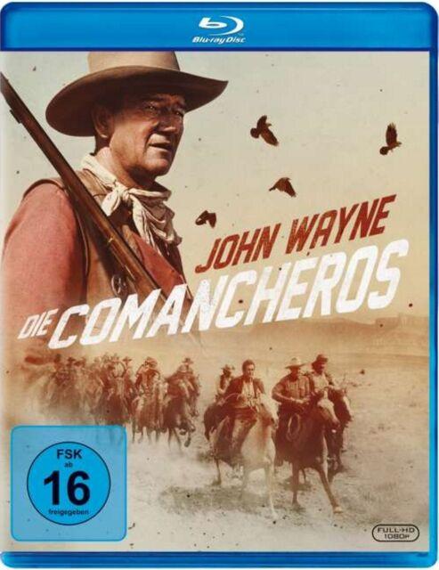 Die Comancheros - John Wayne - Blu-ray Disc - OVP - NEU