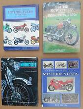 4 x LARGE HARDCOVER MOTORCYCLE BOOKS ENCYCLOPEDIAS Rosevears West Tamar Preview